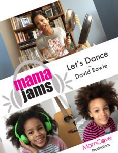 Let's Dance Mama Jams MomCave Family Music Video Series
